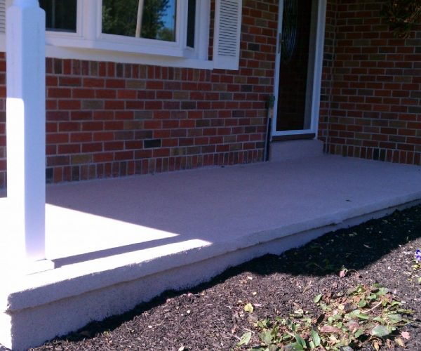 Concrete Porch – After Cleaning