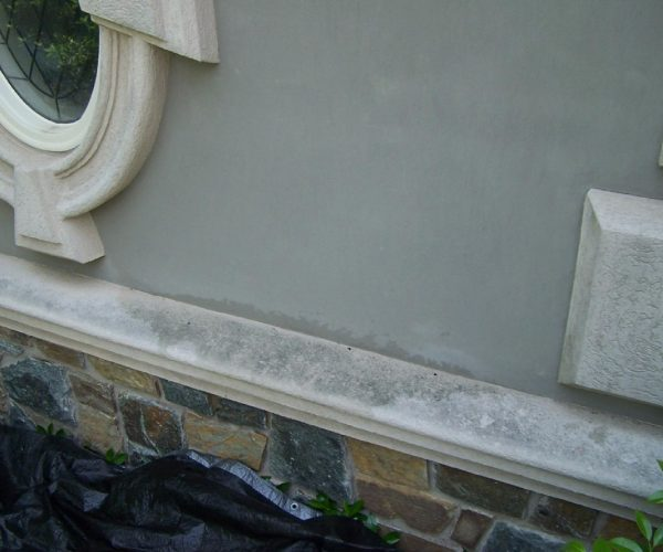 Concrete Sill – Before Cleaning