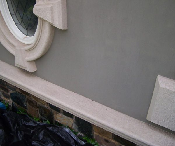 Concrete Sill – After Cleaning