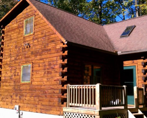 Log and Cedar Homes Washing